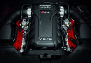 rs5 cabrio engine 300x208 Audi RS5 Cabrio
